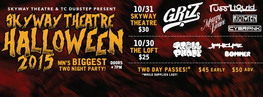 halloween 2015 ft griz russ liquid trollphace muzzy bear jphelpz bommer riot ten more