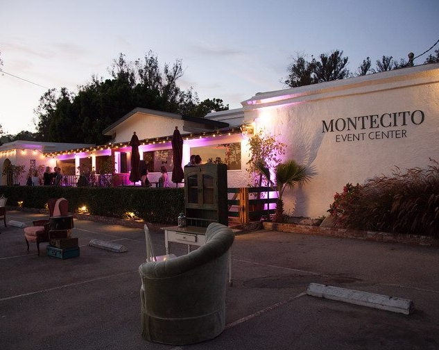 Outside patio at Montecito Event Center