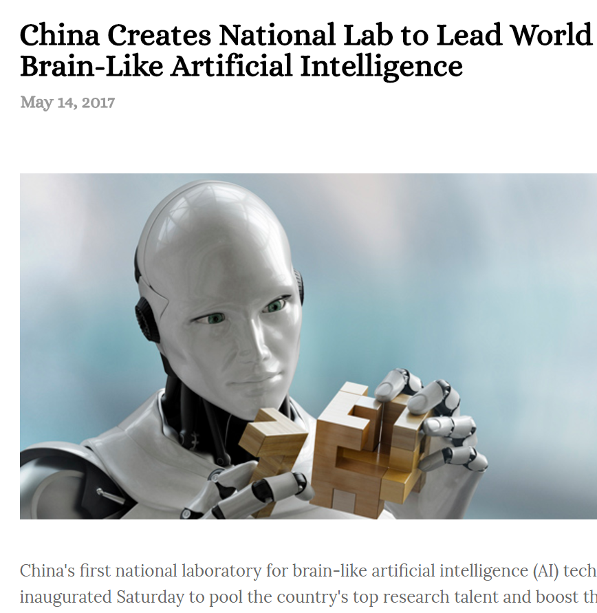 China's brain-like AI