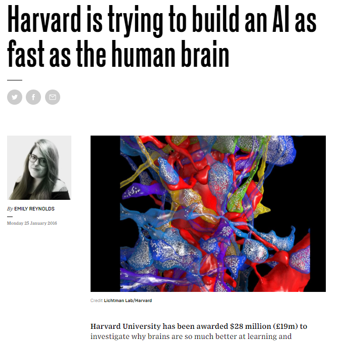 Harvard's AI as fast as the human brain