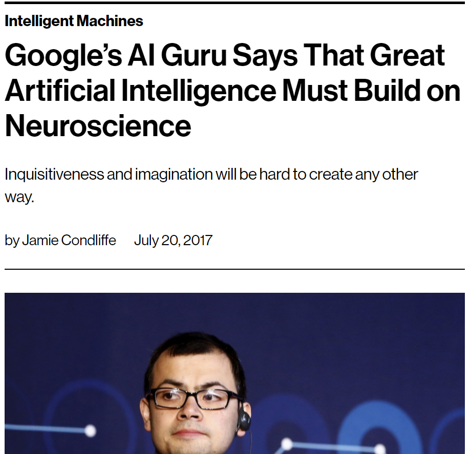 AI Must Build on Neuroscience