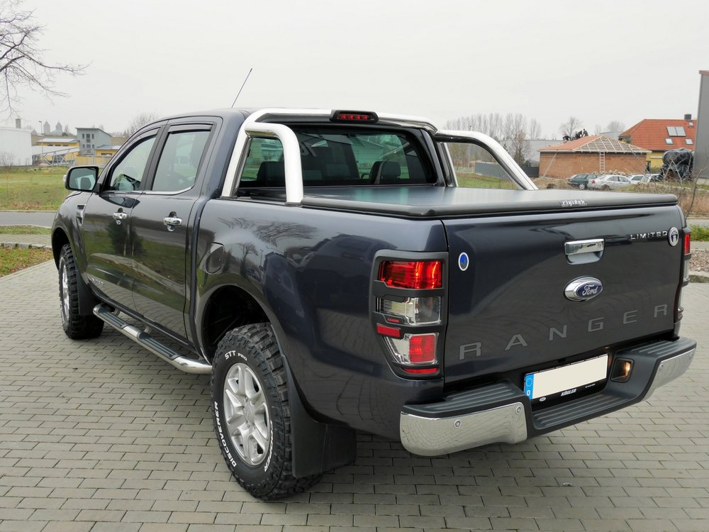 ford ranger rigidek laderaumabdeckung tonneau cover. Black Bedroom Furniture Sets. Home Design Ideas