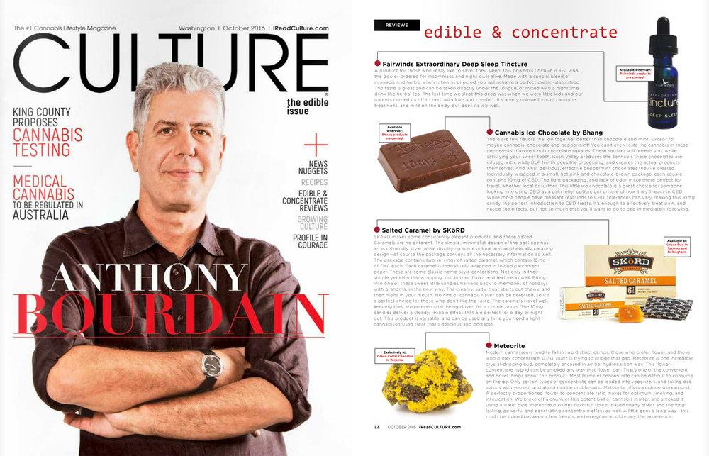 Culture Magazine, October 2016