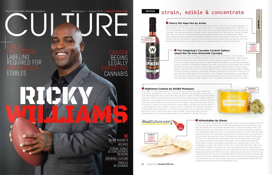 Culture Magazine, August 2016