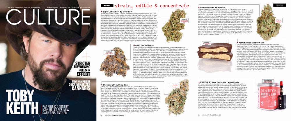 Culture Magazine, August 2017