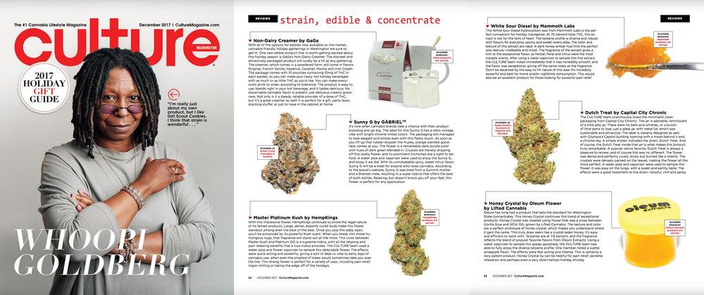 Culture Magazine, December 2017