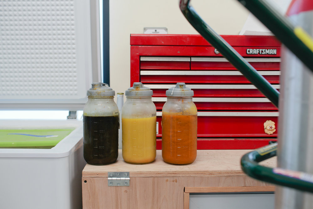 Olala: cannabis-infused beverage processing by cannabis photographer Kristen Angelo