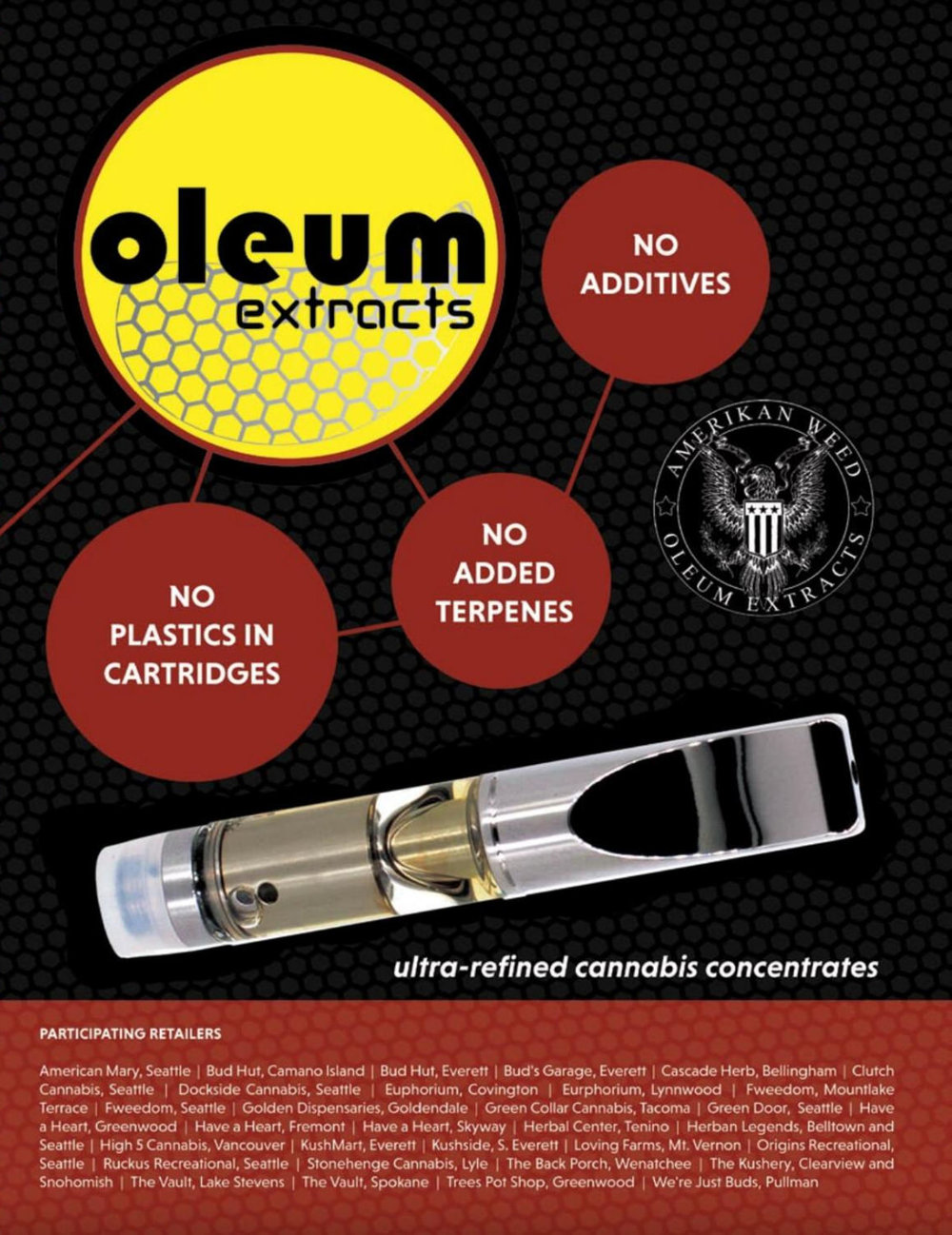 Oleum Extracts Product Photography