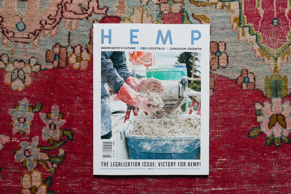 The Legalization Issue: Victory for Hemp: Hemp Magazine