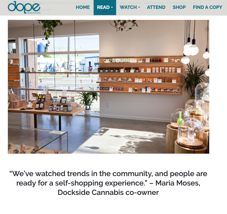 Dope Magazine, December 2018