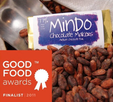 Mindo chocolate products.