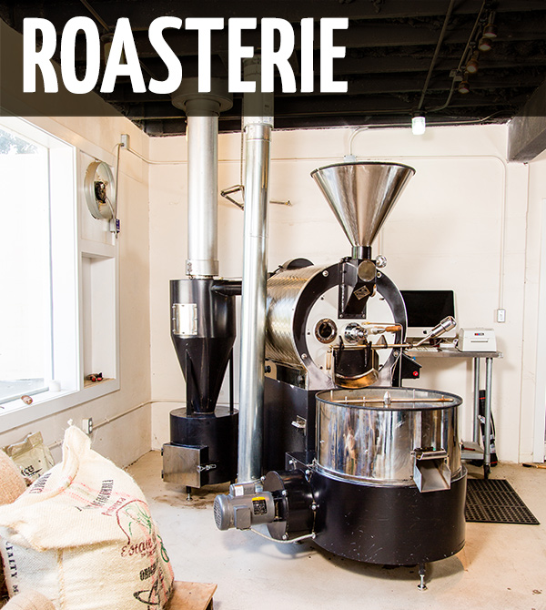 Production ROASTERIE 7945 Elizabeth Street Cincinnati, OH 45231 (513) 655-6535 We work throughout the week making sure our coffees are the best they can be. We have limited public hours at our roasterie. Please stop by for a taste, a tour and to buy some fresh beans! Any other times, please give us a call first. Hours: Tuesdays Pickup Hours 1p - 6p Cuppings by appointment.