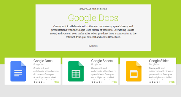 Google Docs is now better than ever on iOS and Android   Jacob Siegal,  bgr.com    Google announced on Thursday that the Google Docs app on iOS and the Docs, Sheets and Slides apps on Android had received updates to give users more editing options on their mobile devices. DON'T MISS: 5 great free Android apps that do amazing…