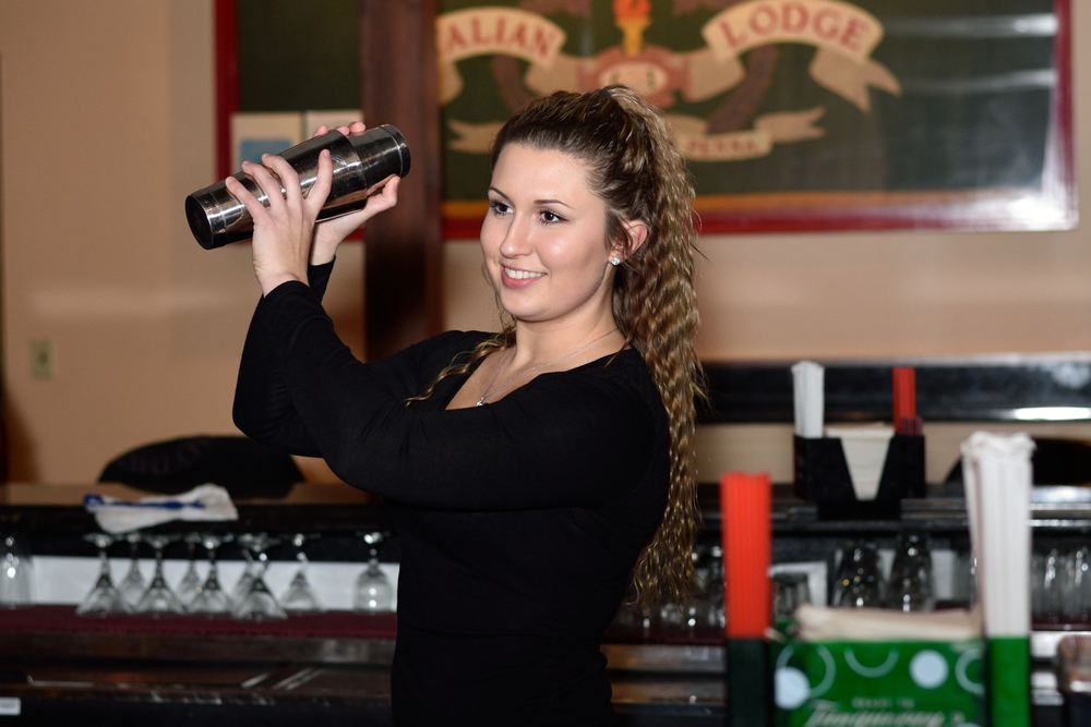 At the Hershey Italian Lodge, we have the friendliest bartenders!