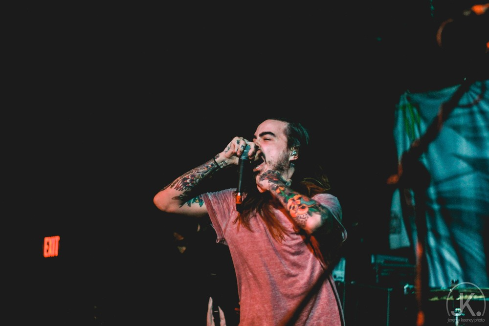Chris Roetter (Like Moths To Flames. The Real Sick Tour. Emerson Theater. May 3rd, 2015)