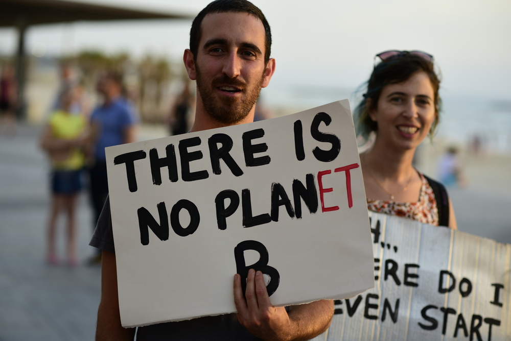 There is no Plan B or Planet B. Time to get out our A game. Credit: shutterstock.com