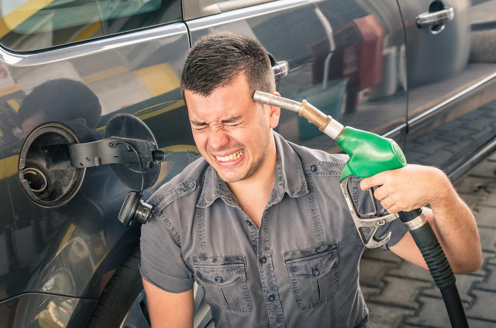 Raising gas taxes enough to incentivize massive electric car conversions would be political suicide!