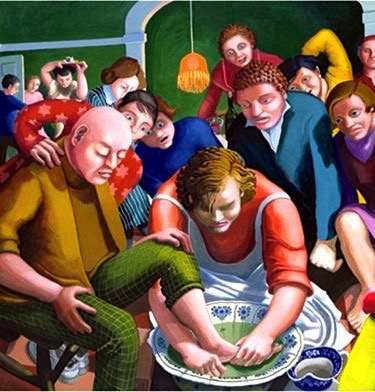 The Foot Washing – Dinah Roe Kendal
