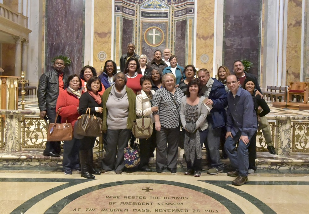 Dec 2015:  150 parishioners made a pilgrimage to the National Basilica in Washington, D.C.