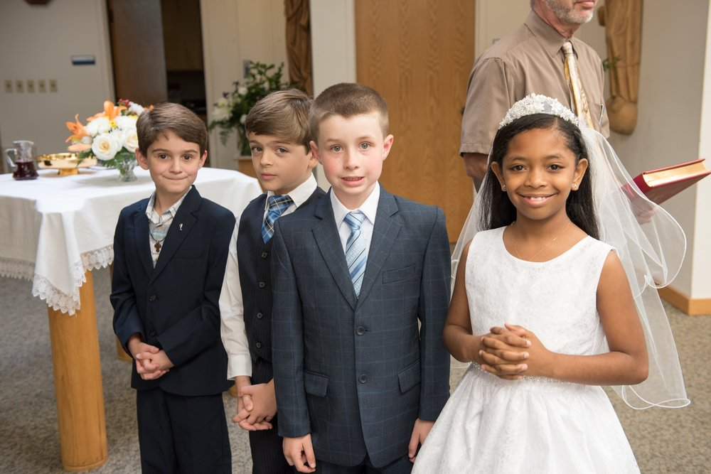 First Communion - April 29, 2017
