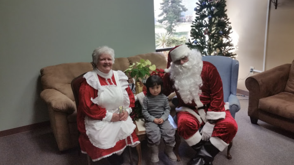 Pictures with Santa -
