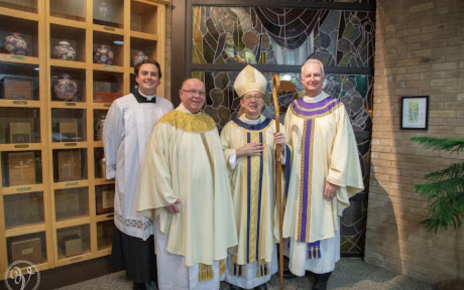 Parish Feast Day and Pastor Installation - December 7, 2018