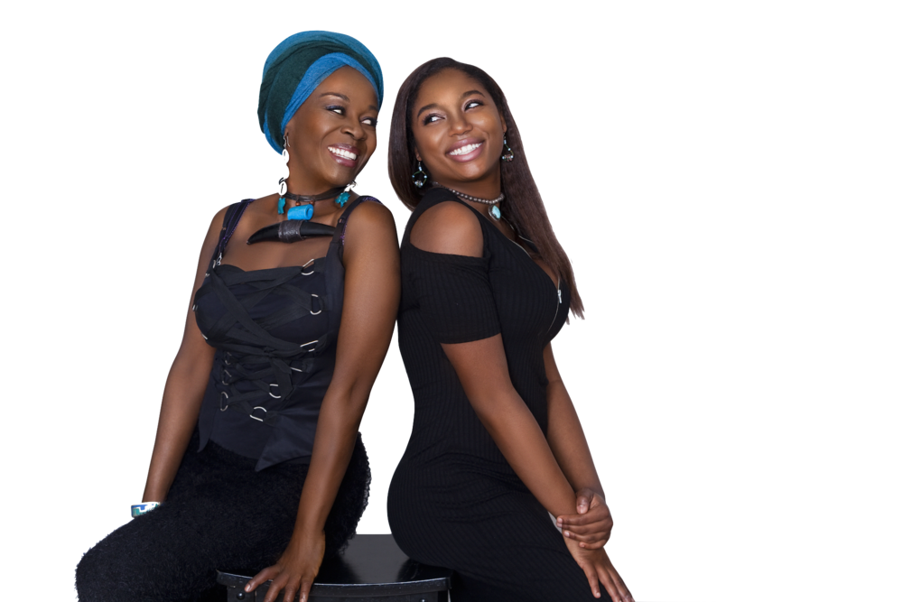 Akosua With Daughter, Hadar, Busia-Singleton. Photos by Crystal Blake