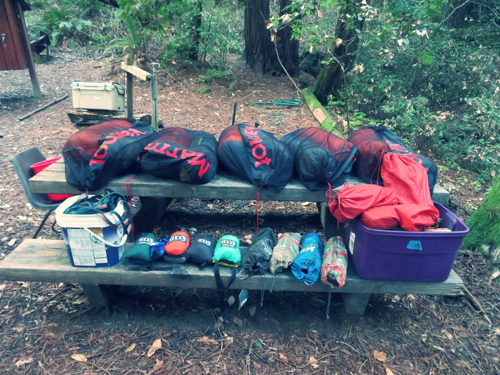 gear STG 001 and excursion camping redwoods.JPG