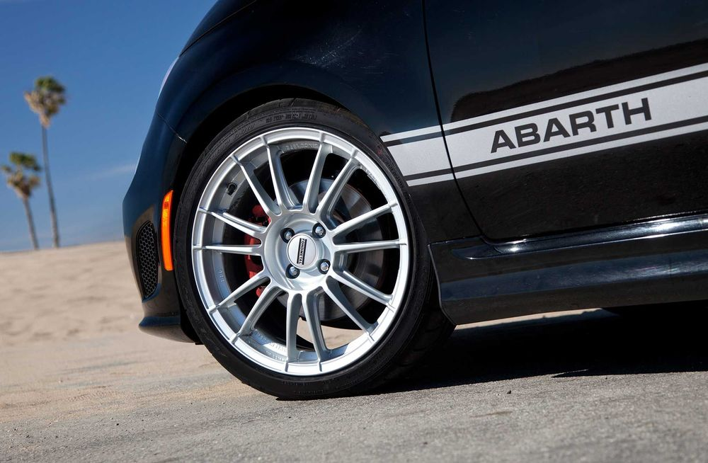 Fiat Abarth Fondmetal 9rr Wheels