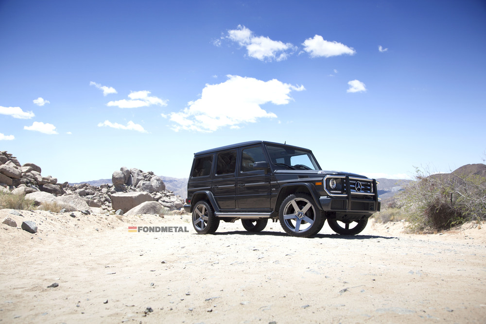 Mercedes-Benz G Wagon Fondmetal STC-02