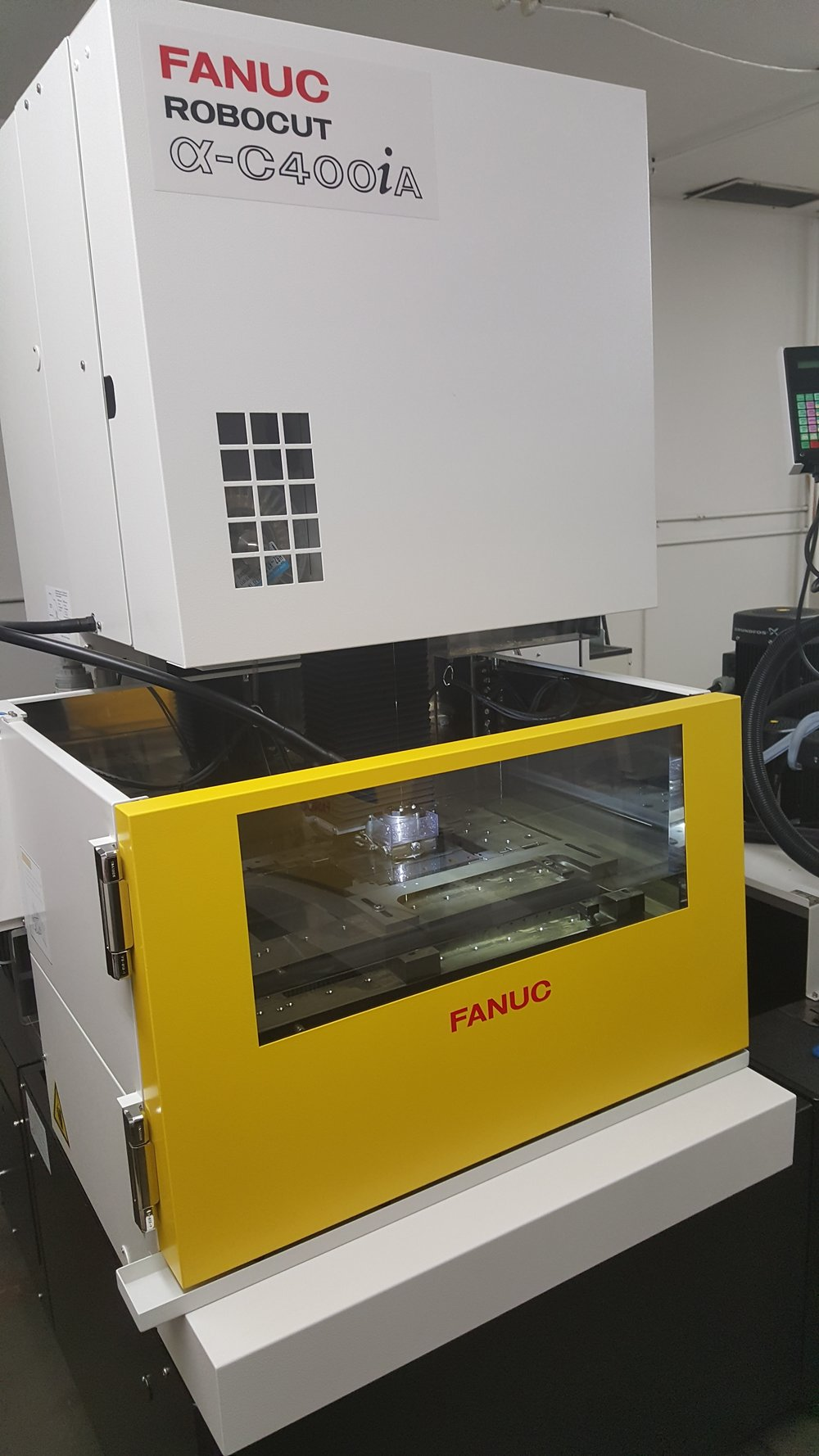 2 Fanuc Wire EDM - Med 10""