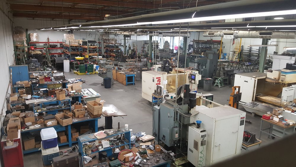 Our American Authentic Machine Shop