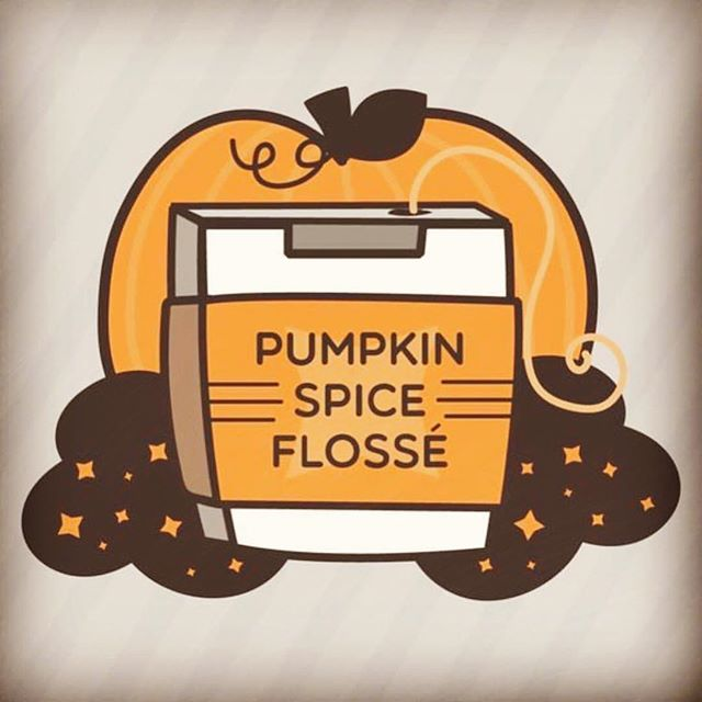 'Tis the season for pumpkin spice everything. Don't forget to floss your teeth!