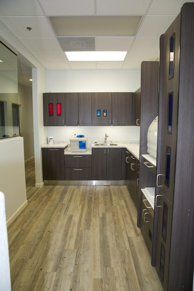 Clean and modern sterilization area