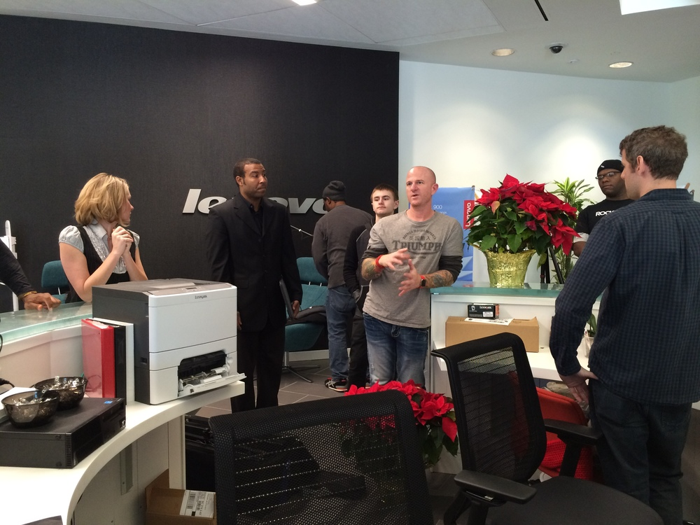 Rusty Worden Directing Lenovo Miix Shoot