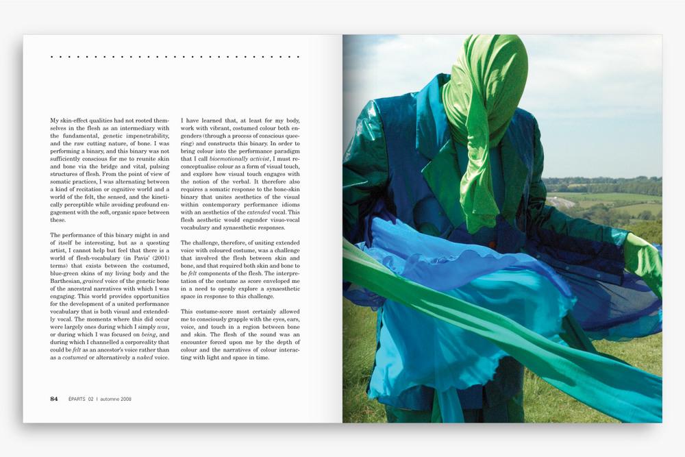 ÉPARTS – Art Magazine Design – Identity, Edition & Typography by Isabelle Robida – Infrarouge [Design & Culture]