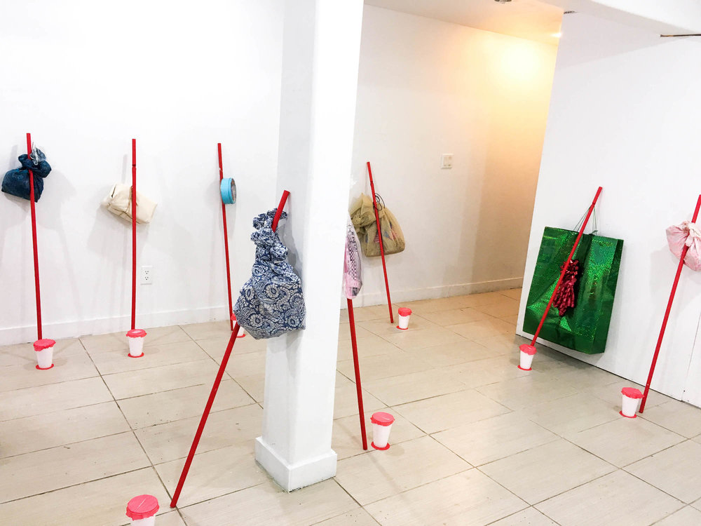 installation view, Orgy Park