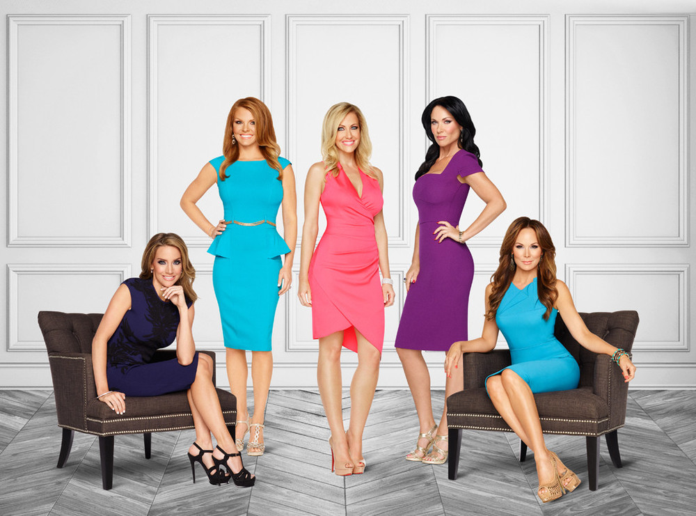 RHOD Cast (from left to right): Cary Deuber, Brandi Redmond, Stephanie Hollman, LeeAnne Locken, Tiffany Hendra.