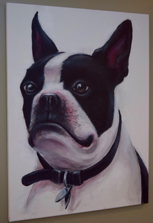 """Acrylic on canvas 18""""x24"""""""