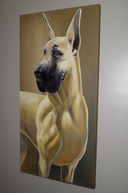 """Acrylic on canvas 24""""x60"""""""