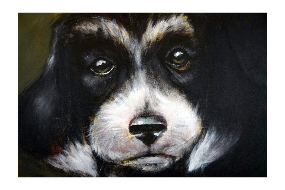 """Acrylic on canvas 18""""x18"""""""