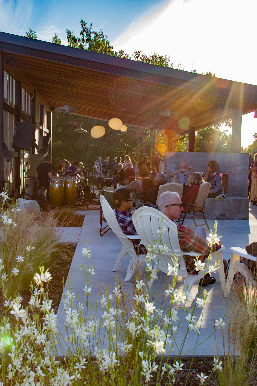 Some'tet at The Lodges on Vashon Summer Concert Series