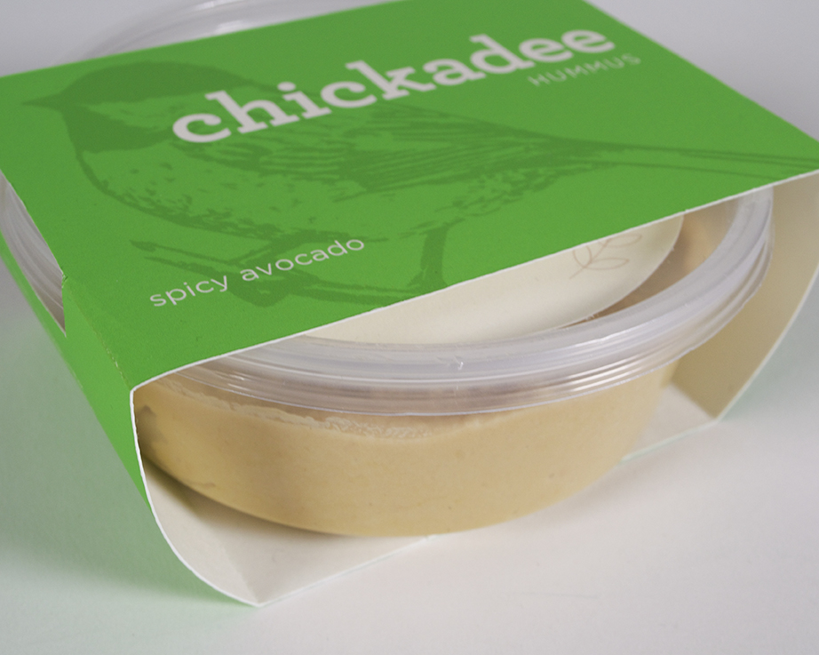 Chickadee Hummus Packaging