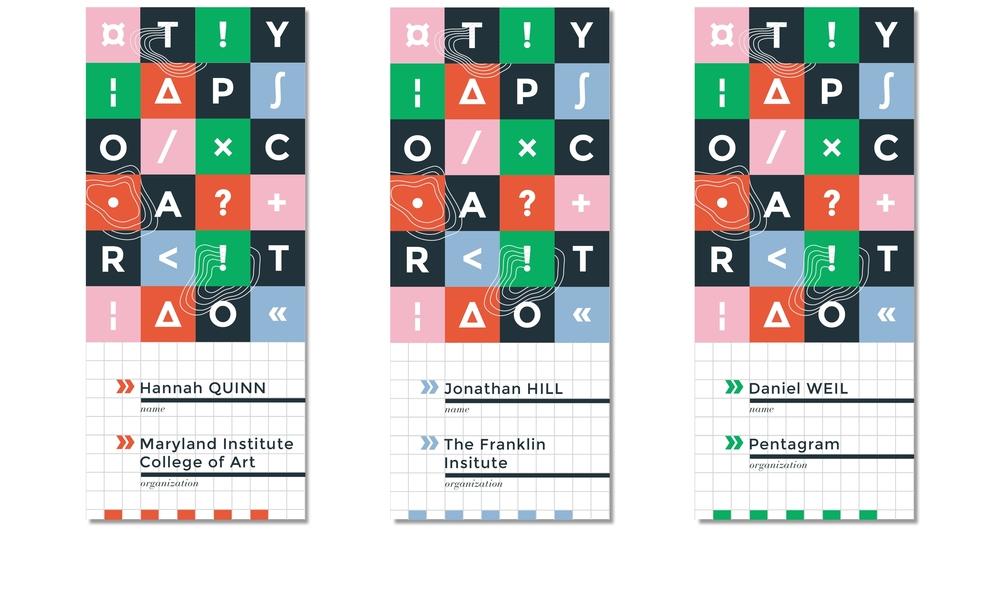 Typo Carto Name Badges