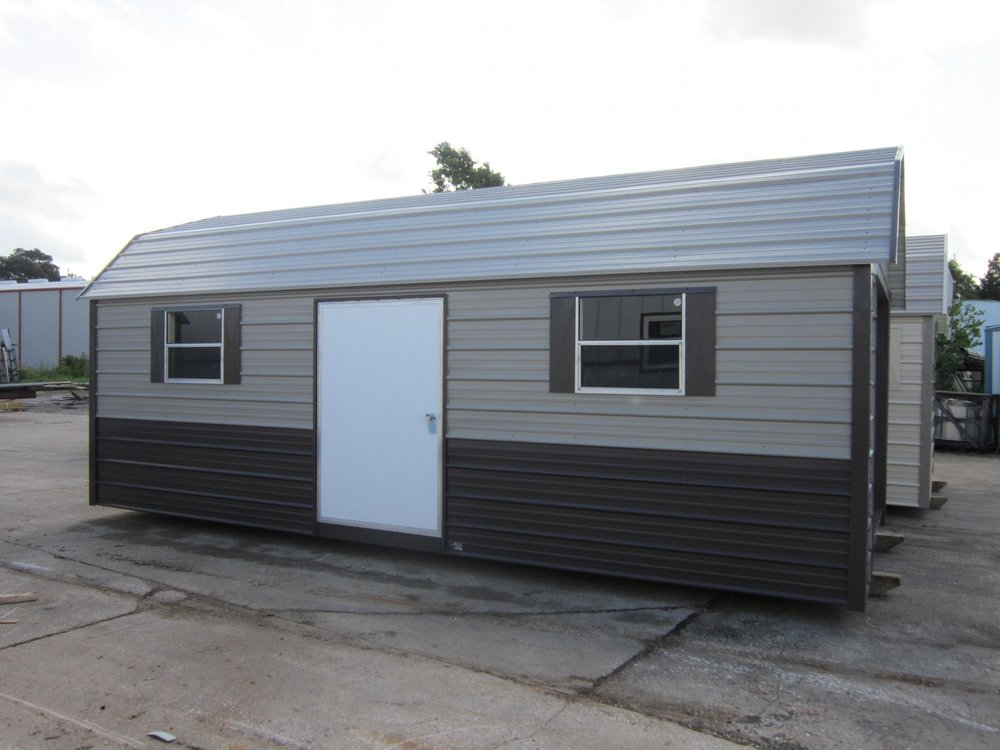 TWO-TONECLASSIC BARN - OUR MOST POPULAR MODEL
