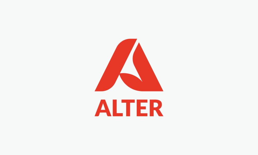 alter fiber clothing logo typography connor fowler cfowlerdesign uk