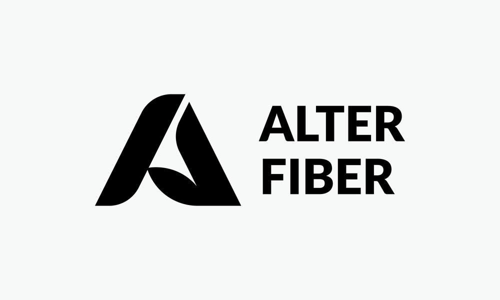 alter fiber logo design typography lockup cfowlerdesign connor fowler uk