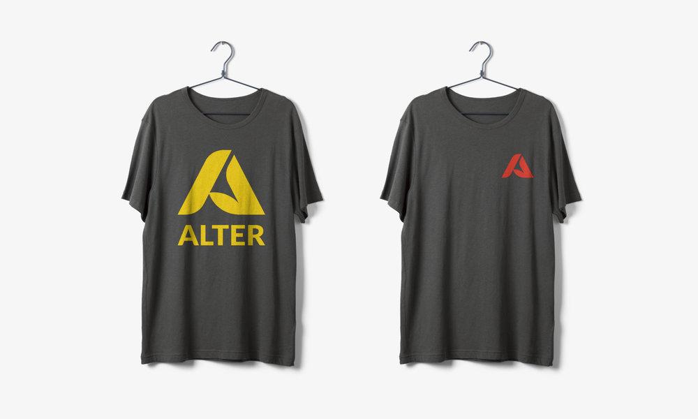 alter fiber clothing logo design tshirt connor fowler cfowlerdesign uk