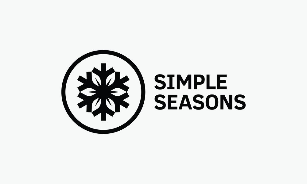 simple seasons leather logo badge design connor fowler cfowlerdesign uk