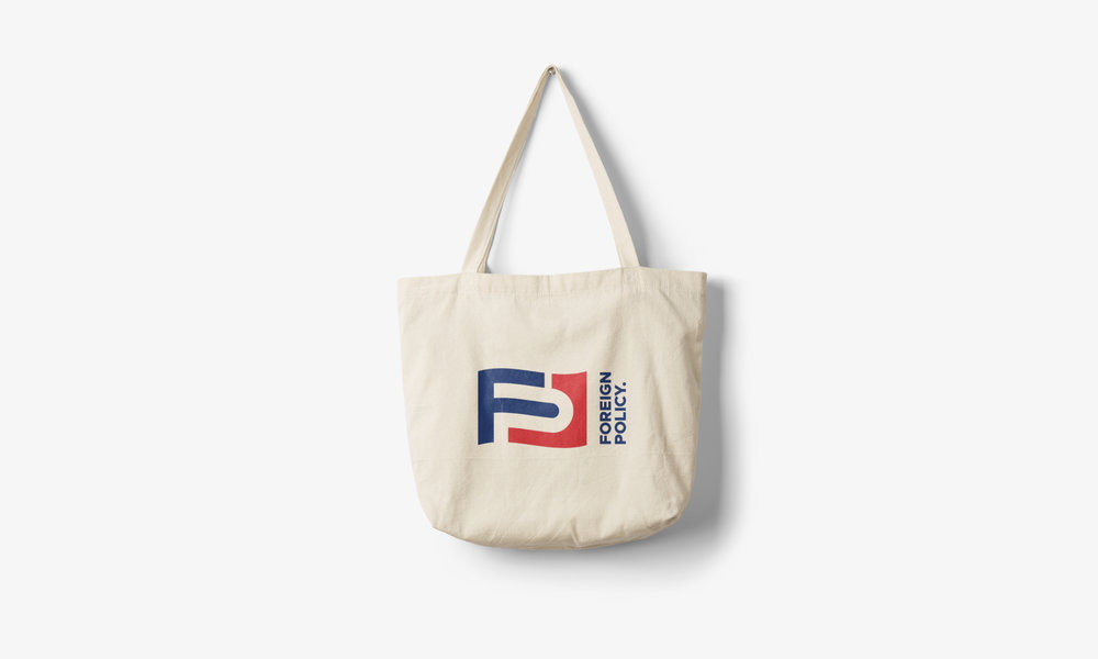 foreign policy tote bag design logo clothing design cfowlerdesign connor fowler uk